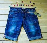 Джинсовые шорты для мальчика рост 140-146 см