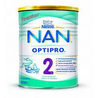 Смесь NAN 2 молочная сухая с 6 месяцев 400г