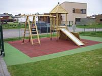 Покрытие для детских площадок 1000 на 1000 мм (толщина 20 мм)