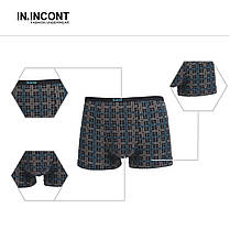 Мужские боксеры стрейчевые марка «IN.INCONT»  Арт.3547, фото 2