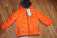 Теплая демисезонная куртка на мальчика M&S, размер 4-5лет, рост110