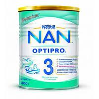 Смесь NAN 3 для детей от 12 месяцев, 400