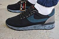 Мужские кроссовки Nike Air Max 90 черные, копия