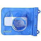 Водонепроницаемый аквабокс для фотоаппаратов Bingo синий , фото 5