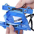 Водонепроницаемый аквабокс для фотоаппаратов Bingo синий , фото 6