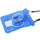 Водонепроницаемый аквабокс для фотоаппаратов Bingo синий , фото 3