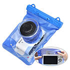 Водонепроницаемый аквабокс для фотоаппаратов Bingo синий , фото 4