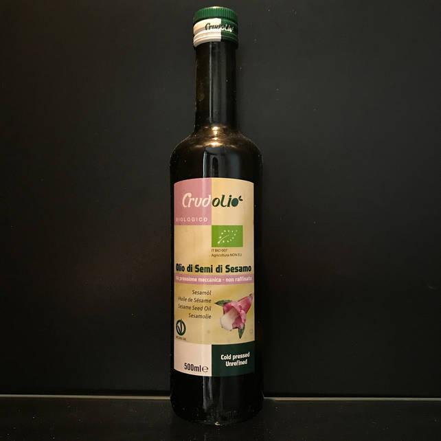 Кунжутное масло Crudolio 500мл