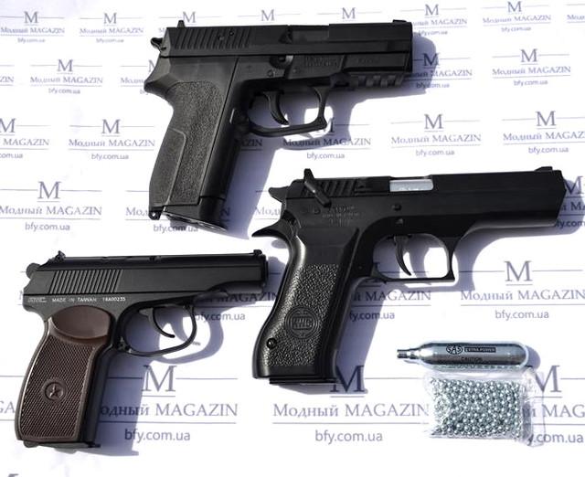 Как выбирать пневматический пистолет