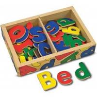 Деревянная игрушка Набор магнитных букв английского алфавита Melissa-and-Doug MD448