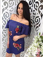 "Платье-туника ""Розы"" 7736 (КИТ)"