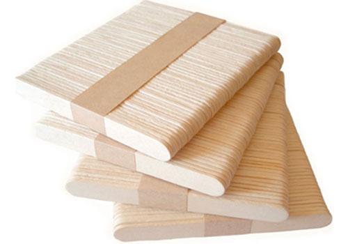 Мішалки для вендінга дерев`яні (90мм),palette Размешиватель для автоматической выдачи 90 мм