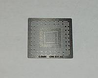 BGA шаблоны Nvidia 0.5 mm G86-631-A2 трафареты для реболла реболинг набор восстановление пайка ремонт прямого