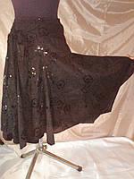 Женская черная юбка р-р 36-42(евро)