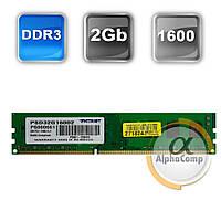 Модуль памяти DDR3 2Gb Patriot (PSD32G16002H) 1600