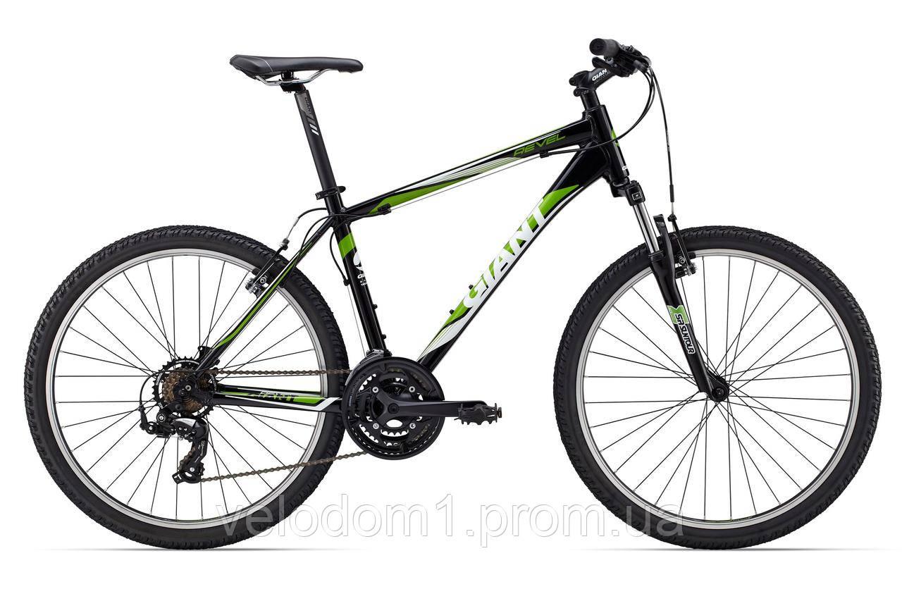 """Велосипед Giant 26"""" Revel 3 черн-злн (L-XL 2015)"""