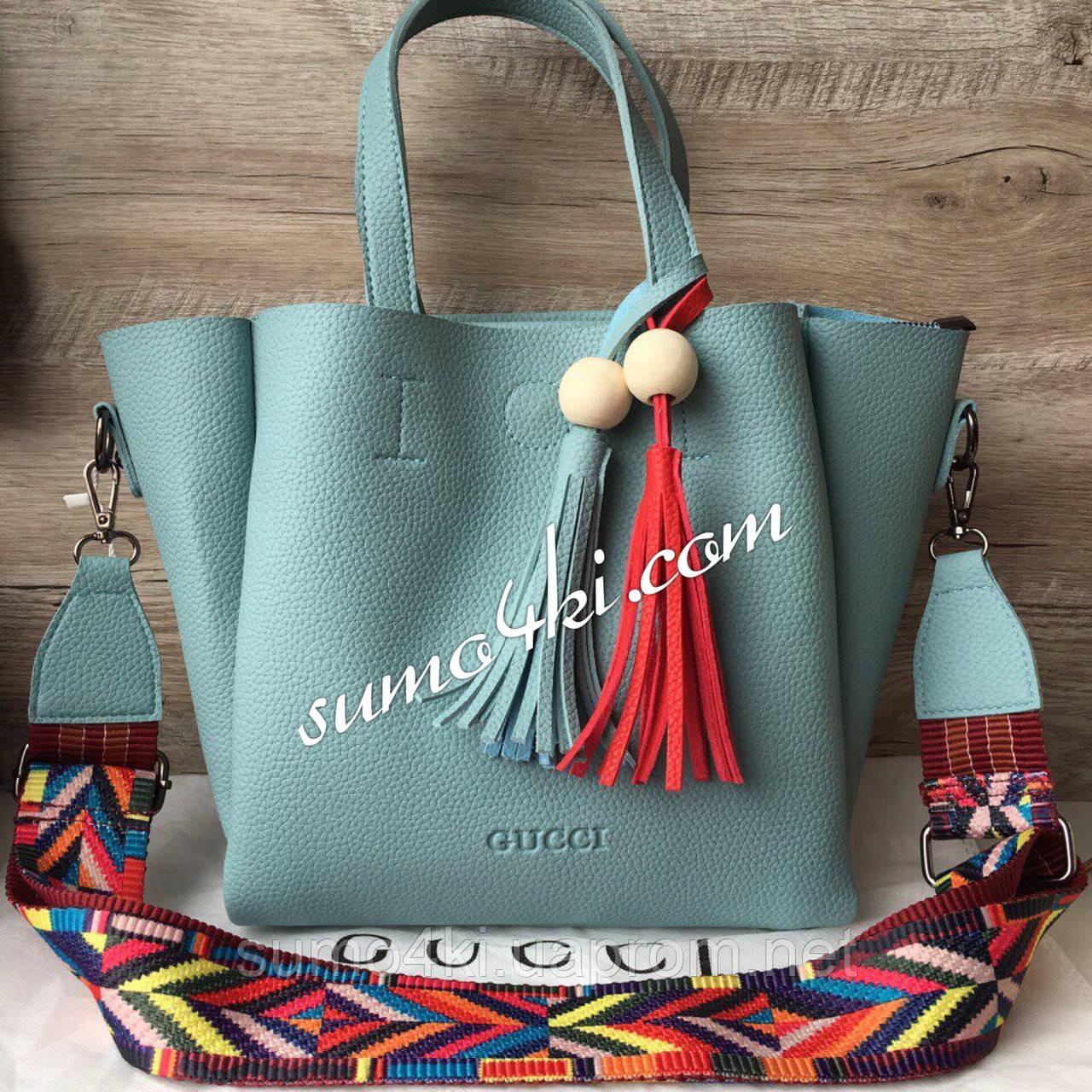 Женская стильная сумка Gucci гуччи, фото 1