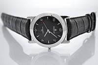 Мужские часы кожа серебро 925*