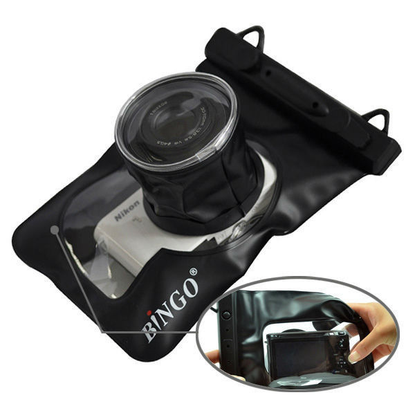 Водонепроницаемый аквабокс для фотоаппаратов Bingo чёрный