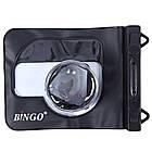 Водонепроницаемый аквабокс для фотоаппаратов Bingo чёрный, фото 3