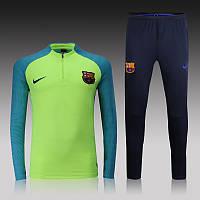 Спортивный костюм Nike, Барселона. Футбольный, тренировочный. Сезон 16/17 (реплика) S (46-48)