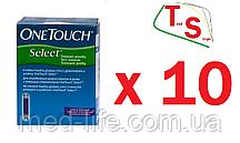 """Тест-Полоски """"Ван Тач Селект"""" 500шт/One Touch Select 500"""