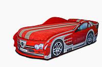 Кроватка машина Мерседес красный