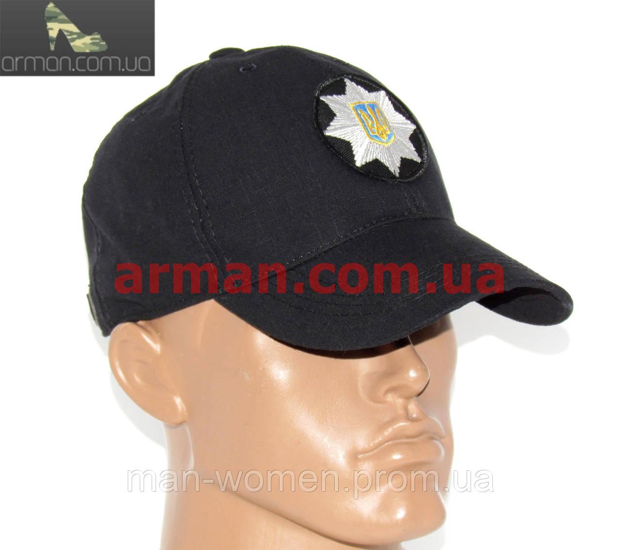 Бейсболка/кепка - Национальная полиция Украины/Національна поліція України. МВС. Полицейская кепка