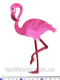 Нашивка фламинго b