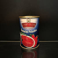 Консервированные помидоры пелатти Castello tomates pelados 400г (Италия)