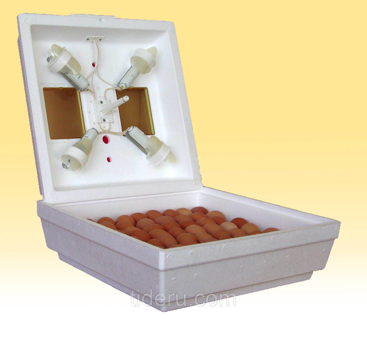 Инкубатор Квочка МИ-30-1-С с ручным переворотом и автоматическим регулятором температуры