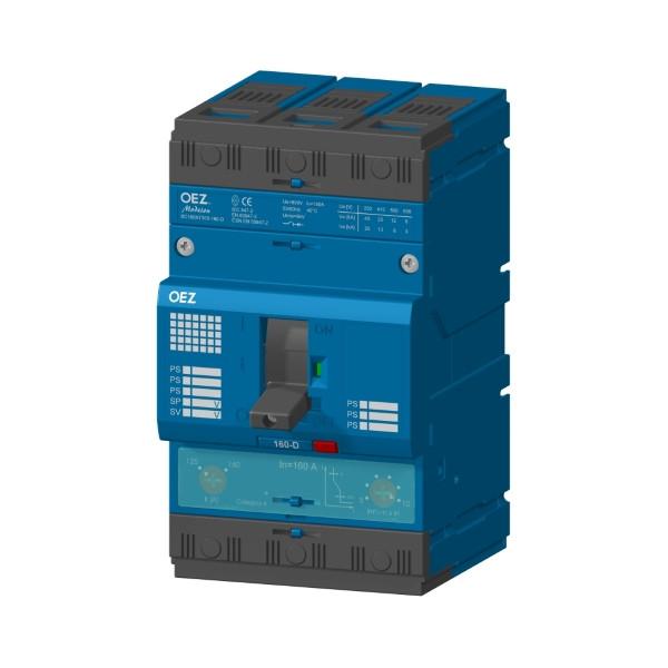 Компактные автоматические выключатели BC160/3P 16-160 A