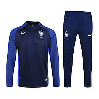 Спортивный костюм Nike, Сборная Франции. Футбольный, тренировочный. Сезон 16/17