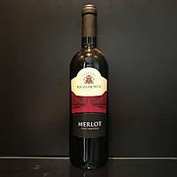 Итальянское сухое красное столовое вино Regalmonte Merlot 0,7л