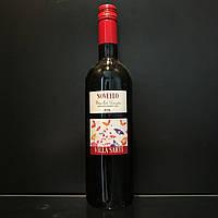 Итальянское сухое молодое красное вино Novello Merlot 0,7