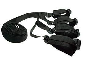 Ремни на кровать Bed bondage фиксаторы запястий и лодыжек ♠ , фото 2