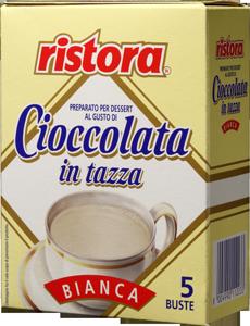 Белый шоколад RISTORA порционный