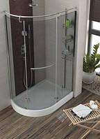 Aquaform душевая кабина Aquaform Etna 120x85 левая, стекло графитовое (105-14099)