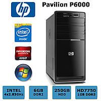 Геймерский HP - 4х2.83GHz /6GB DDR2 /Radeon HD7750 1GB DDR5 /250GB HDD