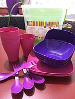 Набор посуды Подарочный Алеана