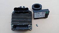 Блок управления двигателем Opel Opel Astra G 1.4 16V (X14XE). 09355909.