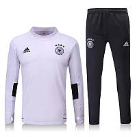 Спортивный костюм Adidas, Сборная Германии (белый). Футбольный, тренировочный. Сезон 16/17