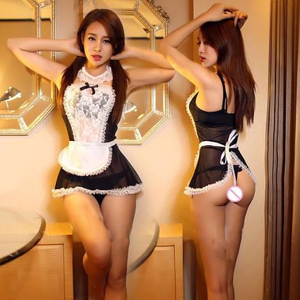 Эротический комплект белья горничной Housekeeper, фото 2