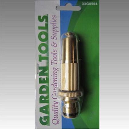 GARDEN-латунь 33G0504 /3013 Брандспойт регулируемый