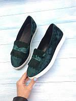 Женские туфли натуральные кожа/замша Allure 2017 AL0085