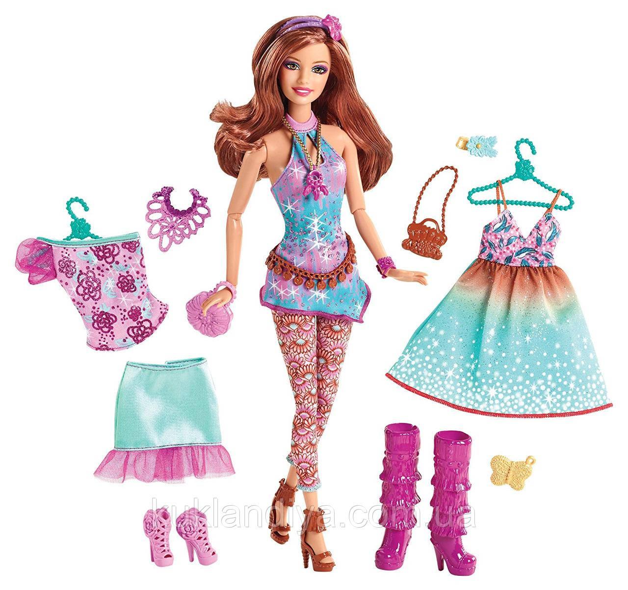 """Лялька Барбі """"Модниця"""" Великий гардероб"""" BARBIE FASHIONISTAS"""
