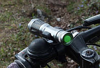 Фонарь UltraFire E6 на светодиоде Cree XM-L T6 линзовый фара фонарик фокусируемый линзовик ліхтарик