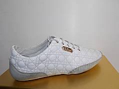 Жіночі мокасини Dior 8835 білі