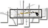 "Модульная картина ""Абстракция ""Полиптих""  (900х1560 мм)  [6 модулей]"