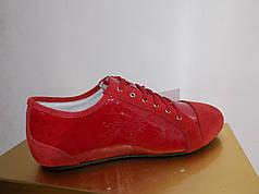 Жіночі мокасини Burberry 101 червоні